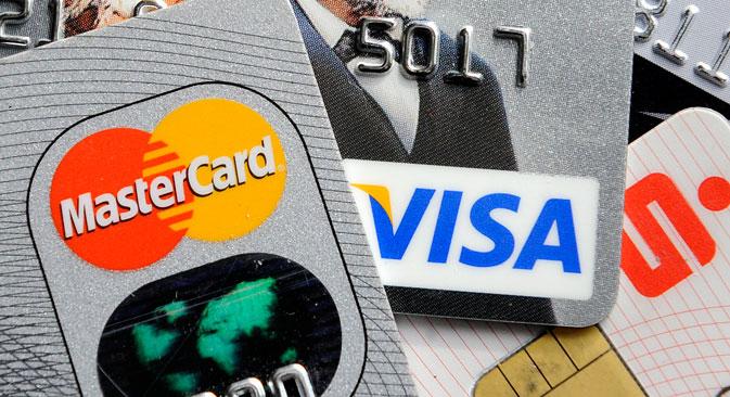 Следећа фаза треба да буде пуштање у промет пластичних картица руског националног платног система. Извор: AP.