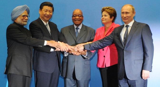 Strateški cilj zemalja-partnera je etapno prerastanje BRICS-a u mehanizam koordinacije po strateškim pitanjima svjetske politike i ekonomije. Izvor: EPA / Vostock-Photo.