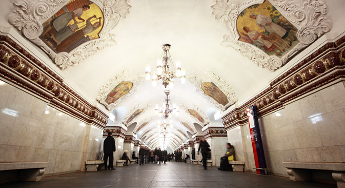 Stanica Kijevska (Arbatsko-pokrovska linija). Izvor: Lori / Legion Media.