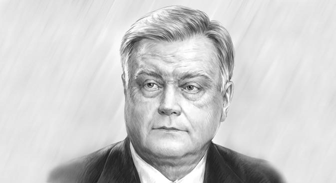 Владимир Јакуњин.  Аутор портрета:  Дмитриј Дивин.