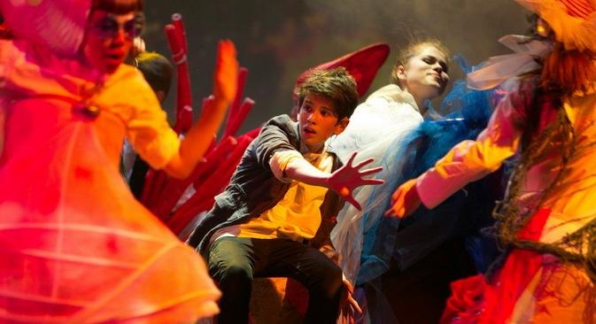 Сцена  из мјузикла посвећеног нуклеарном физичару Игору Курчатову. Фотографија: Пресс фото