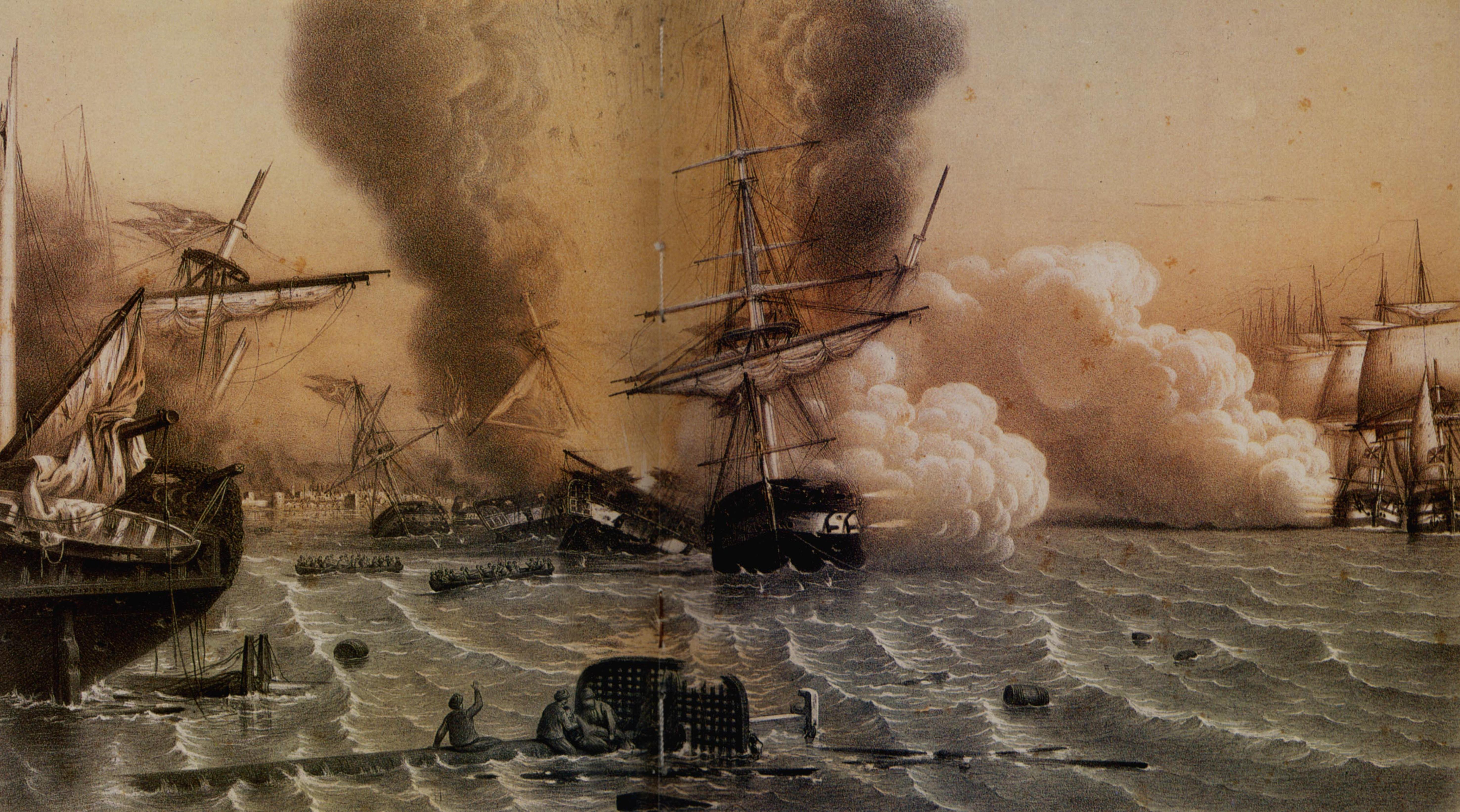 Битка код Синопа 30. новембра 1853.