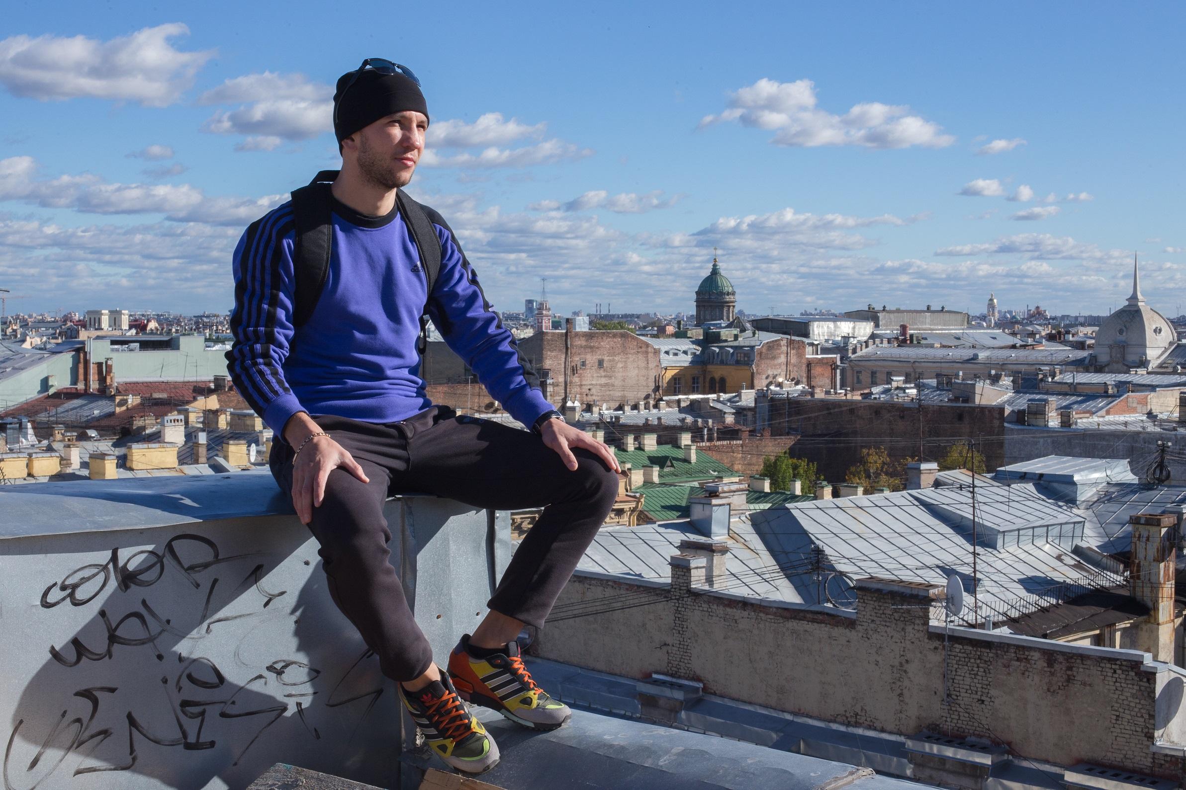 "Konstantin, ""roofer"" Sankt Peterburga."