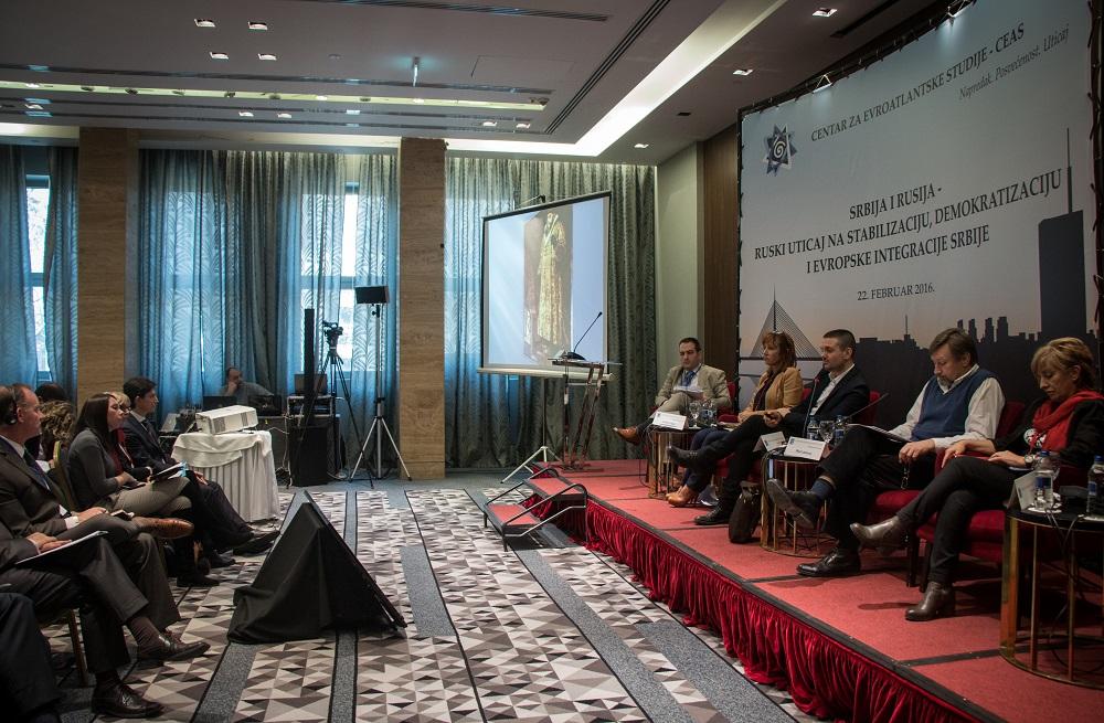 Конференцију одржану 22. фебруара у Београду организовао је Центар за евроатлантске студије (CEAS). Фото: Сергеј Белоус