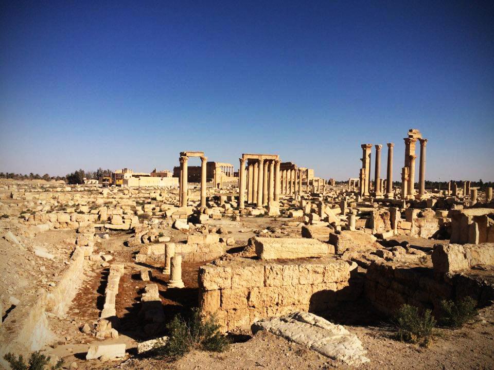 Ruske sile med drugim načrtujejo ofenzive iz Palmire proti vzhodu.