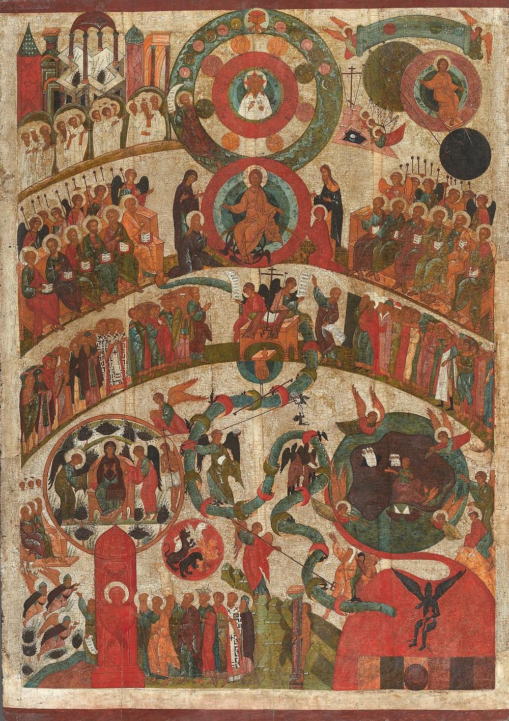 Судњи дан, XVI век, Третјаковска галерија
