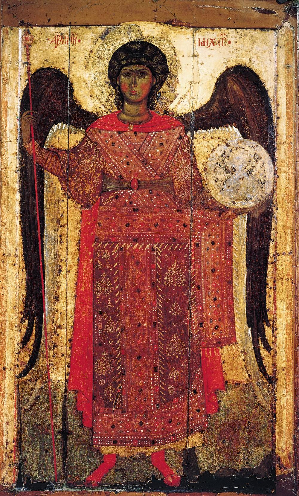 Архангел Михаил, касни XIII век