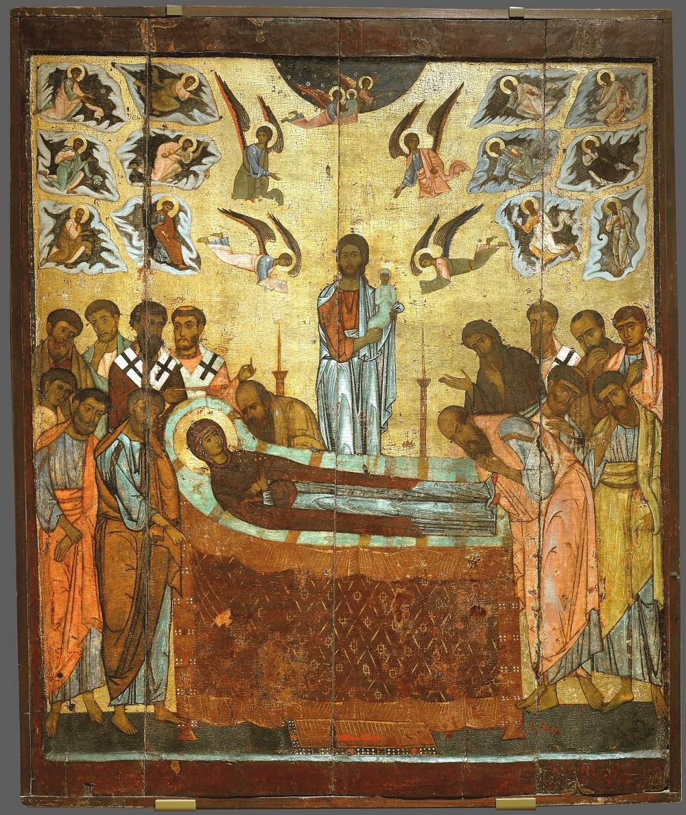 Успење Пресвете Богородице, XIII век, Третјаковска галерија
