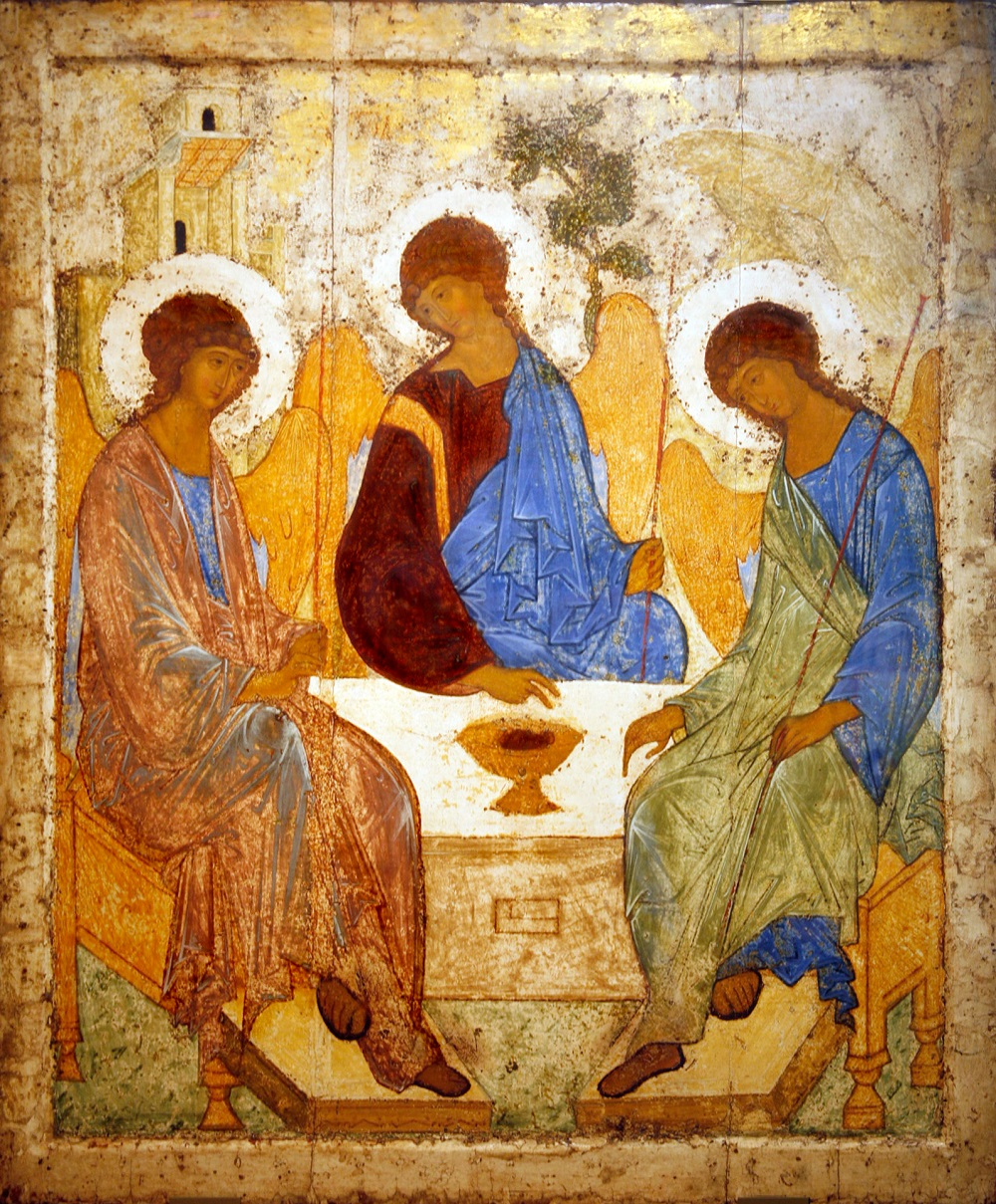 "But his fame rests mostly on his restoration work. Were it not for him, we would probably have lost Andrei Rublev's legendary ""Trinity"" icon."