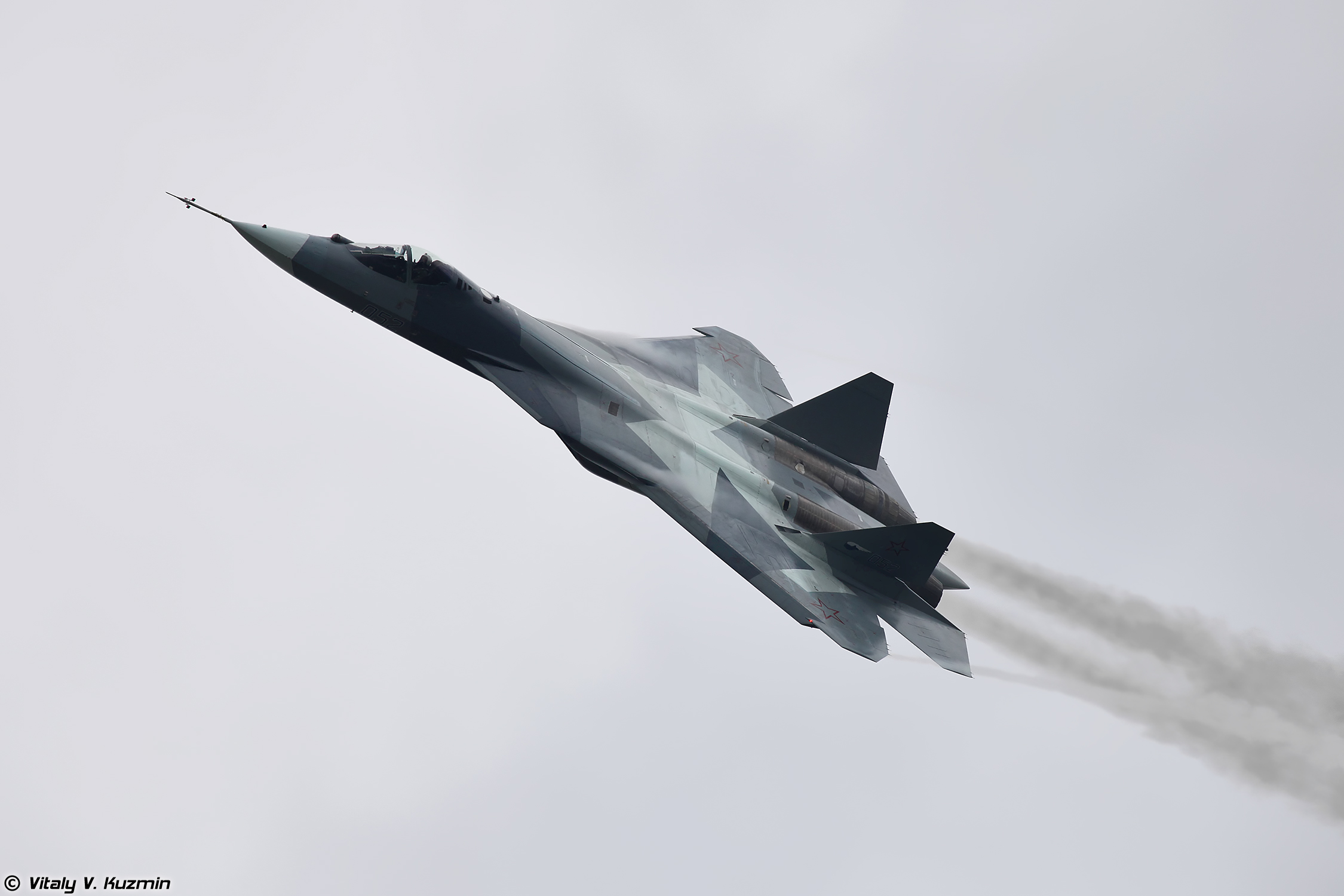 The FGFA fighter is developed based on the Russian PAK FA jet in accordance with the Indian side's technical requirements.