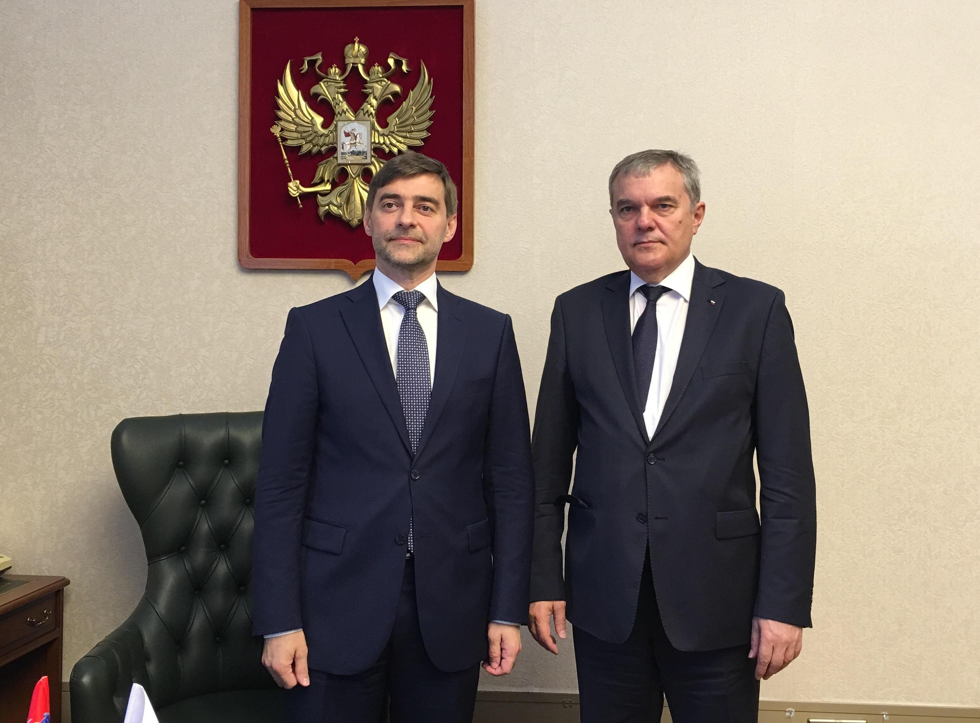 Сергей Железняк и Румен Петков.