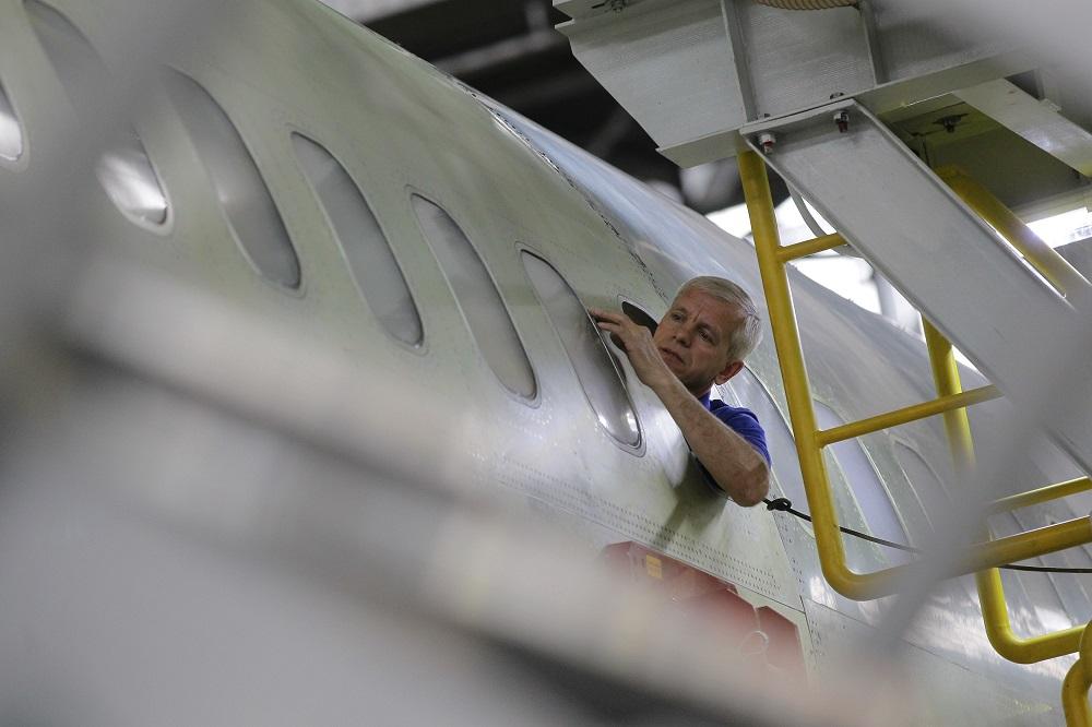 Le nouvel avion de ligne MS-21