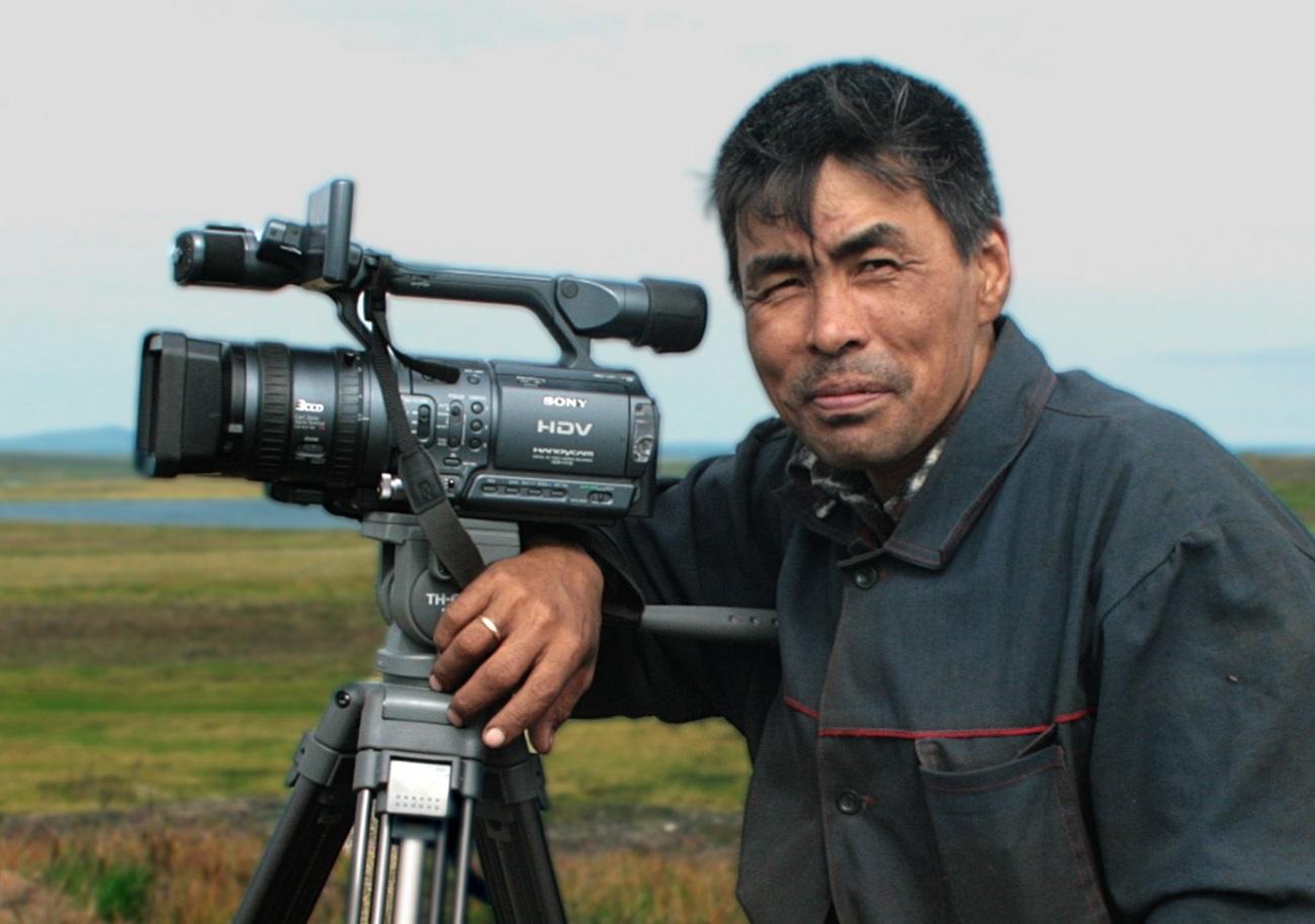 Čukotski režiser Vladimir Puja.