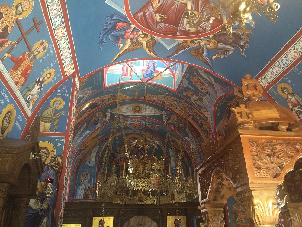 Фреске у Храму св. Луке\n