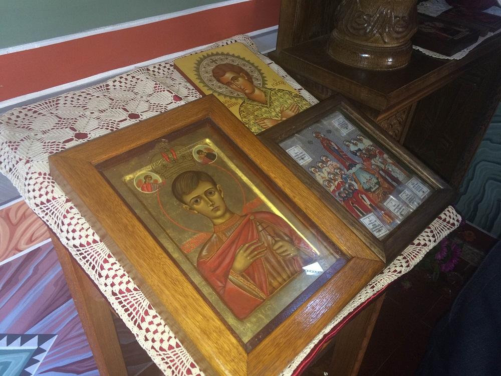 Мироточива икона св. новомученика Алексеја\n