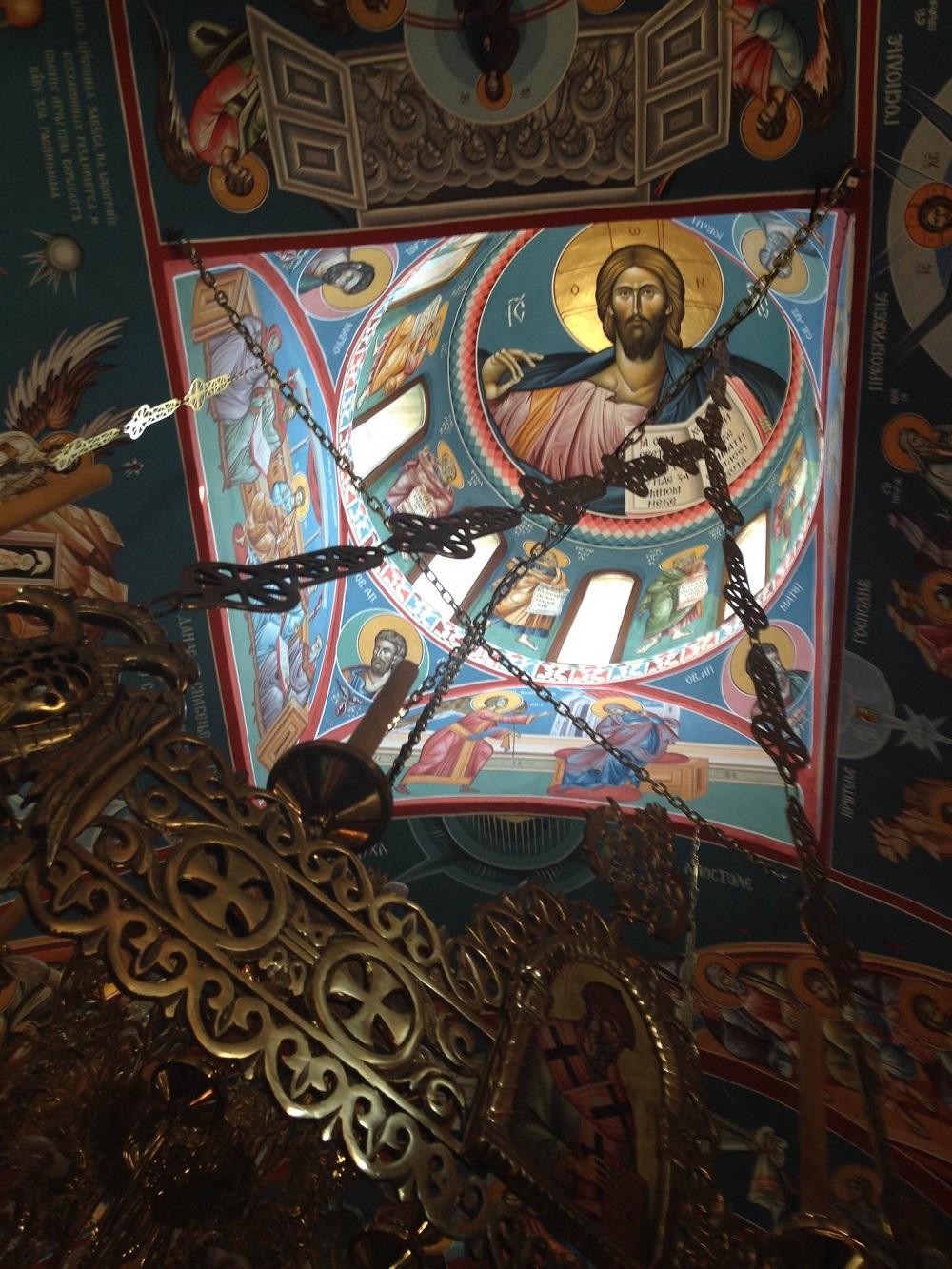 Фреске у Храму св. Луке