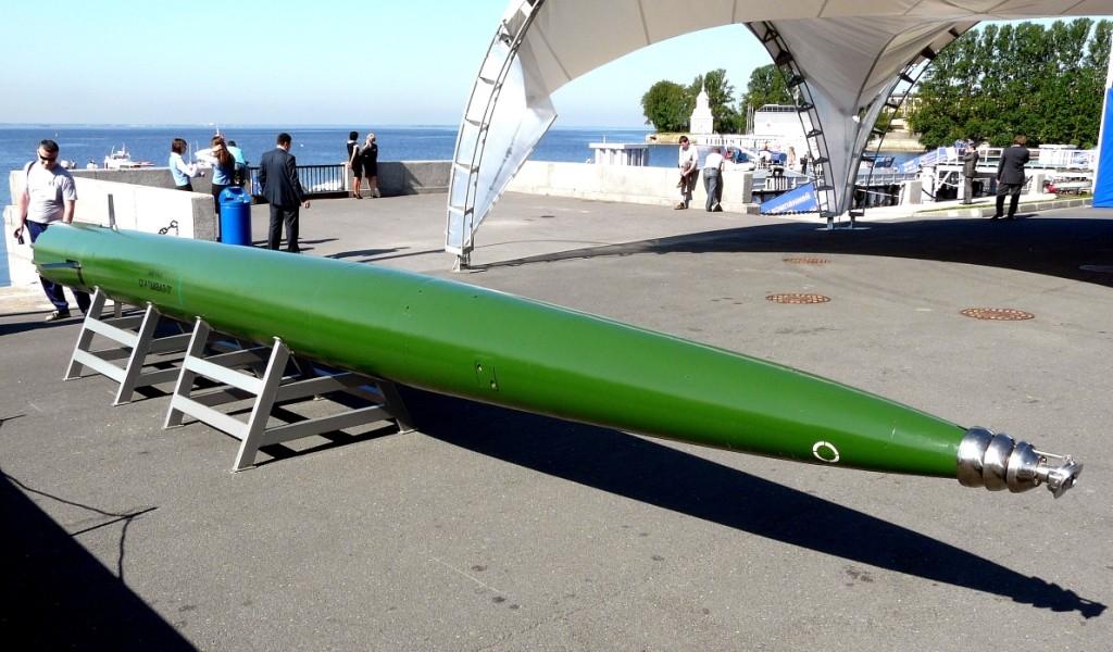 """Torpedo """"Škval"""" je još uvijek jedan od proizvoda ruske vojne industrije koji se čuva u najvećoj tajnosti."""