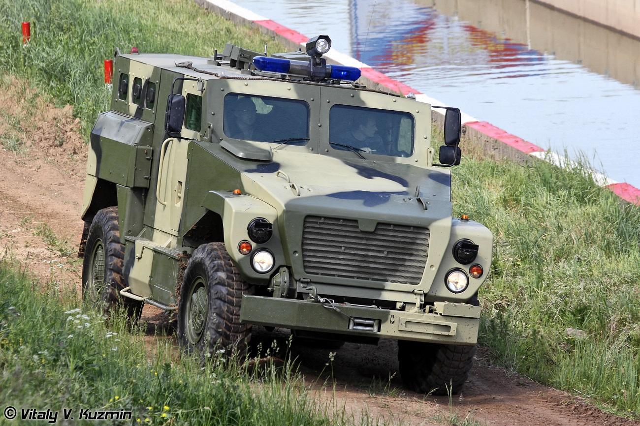 """Novi oklopni transporter po imenu """"Medvjed""""."""