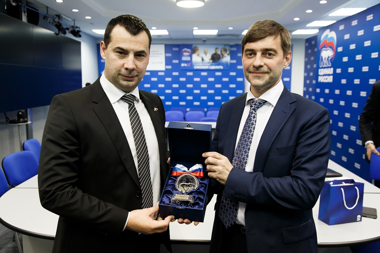 Сергеј Железњак и Стефан Стаменковски.