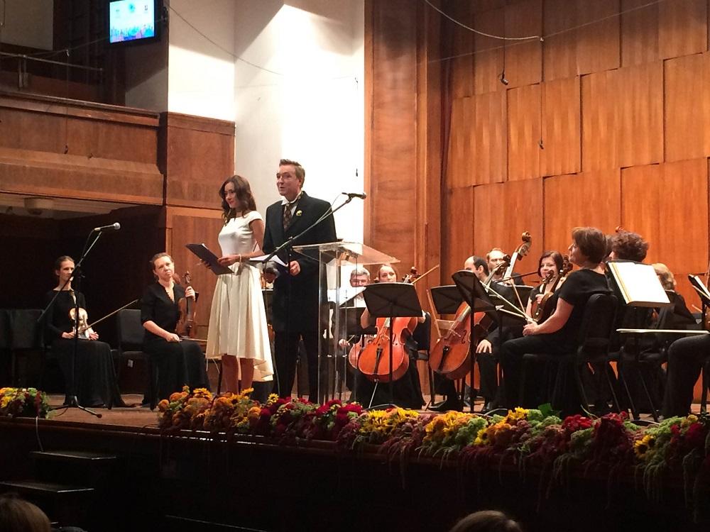 """""""Дани"""" су отворени концертом класичне музике у извођењу камерног симфонијског оркестра """"Musica Viva"""" у Коларчевој задужбини.\n"""
