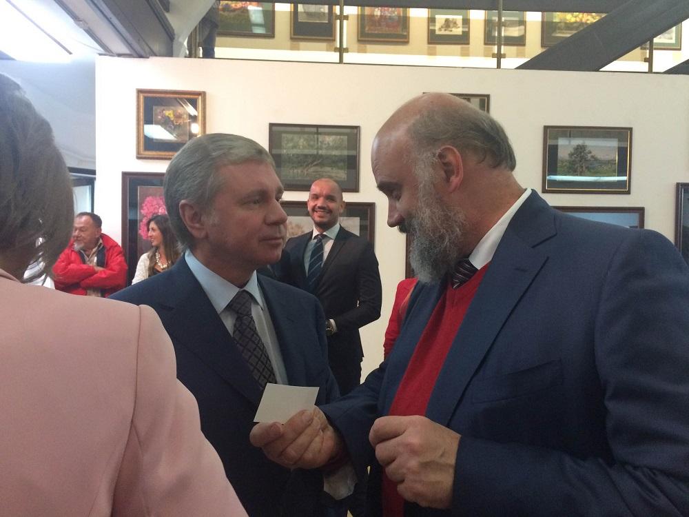 Сергеј Черјомин и Сергеј Андријака\n