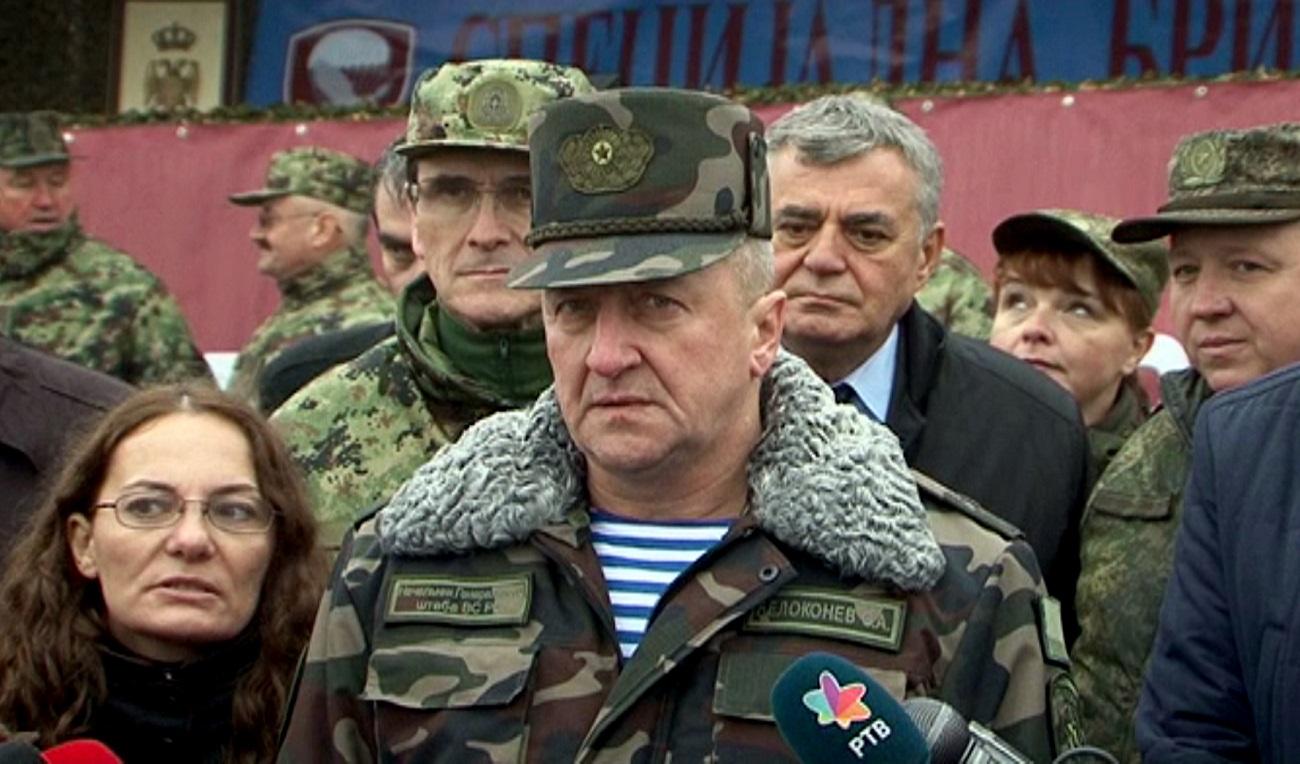 Олег Белокоњев. Прес-фото Министарства одбране Србије