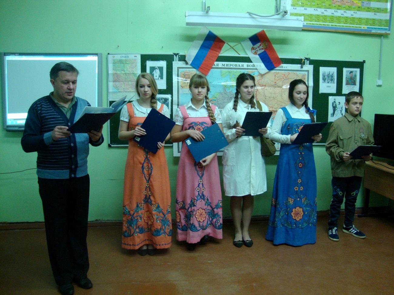 Час у школи села Поњкино у Ивановској области. Фото из личне архиве Александра Муравјова.