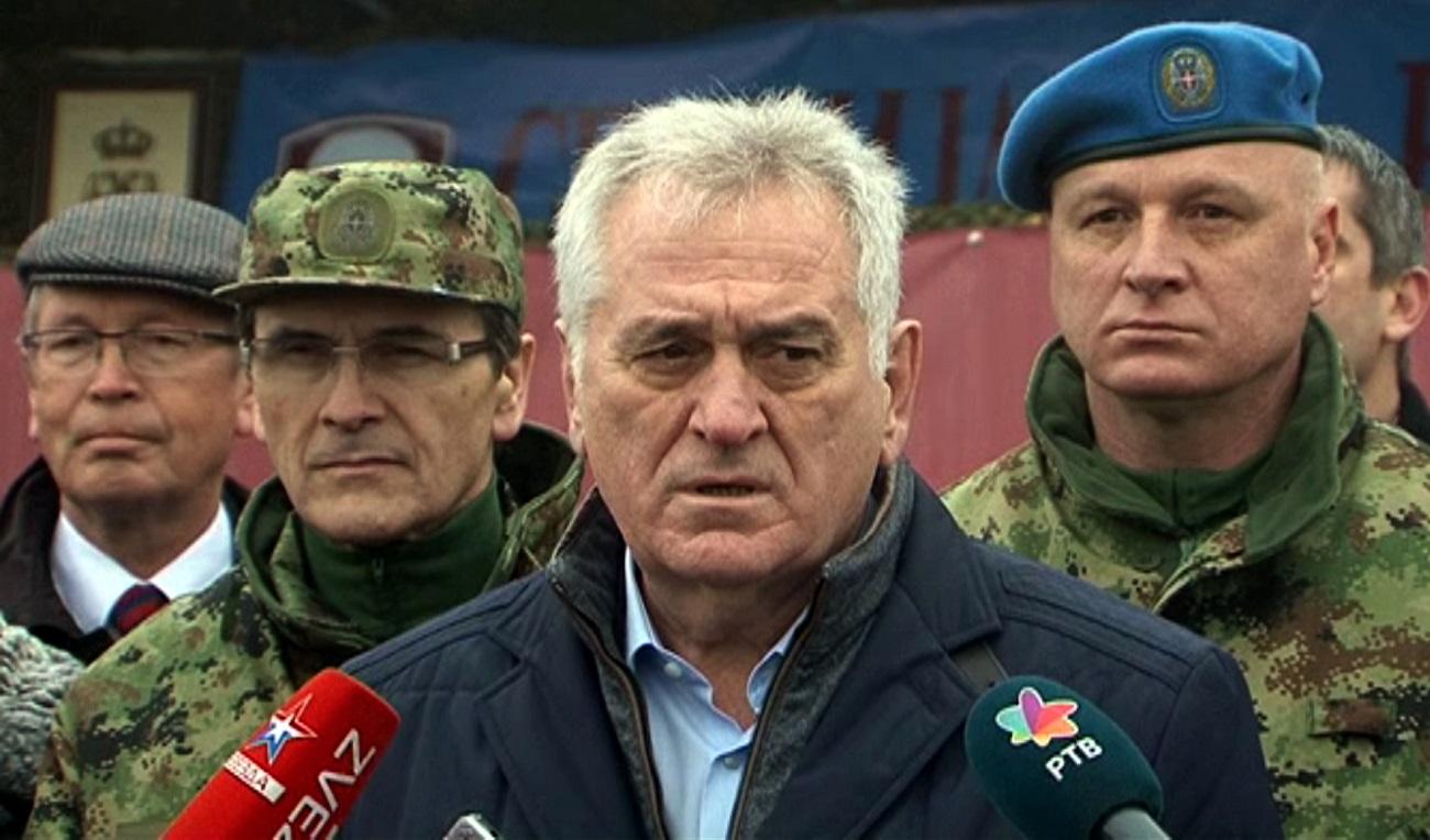 Томислав Николић.Прес-фото Министарства одбране Србије