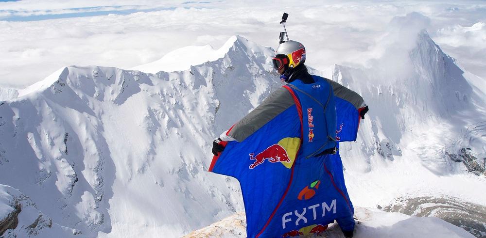 Valery Rozov dans l'Himalaya en 2016. Crédit : Nika Lebanidze / Red Bull