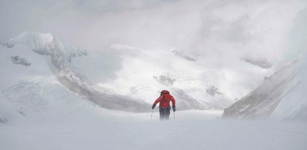 Valery Rozov dans l'Himalaya.n