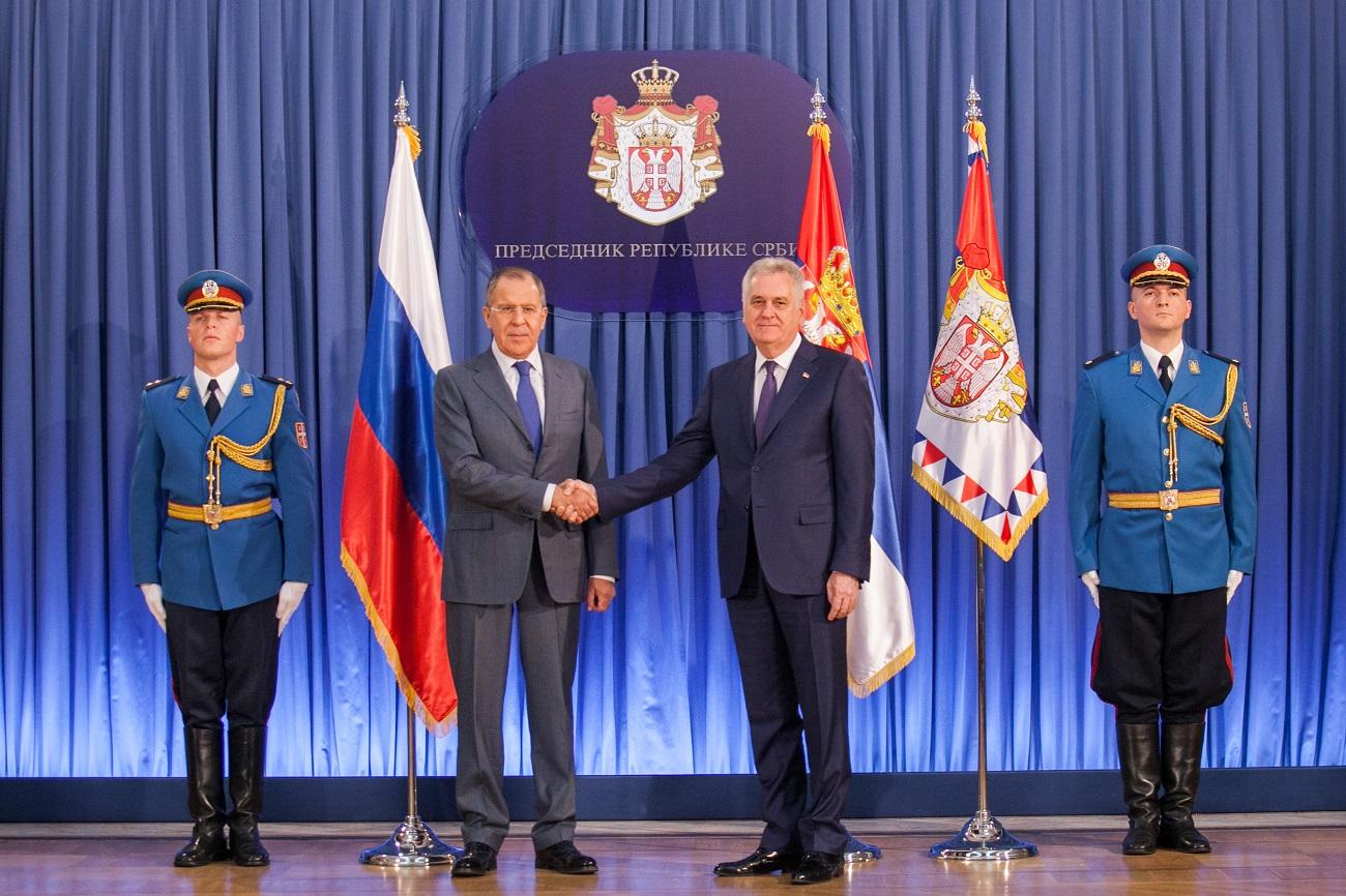 Сергеј Лавров и Томислав Николић.
