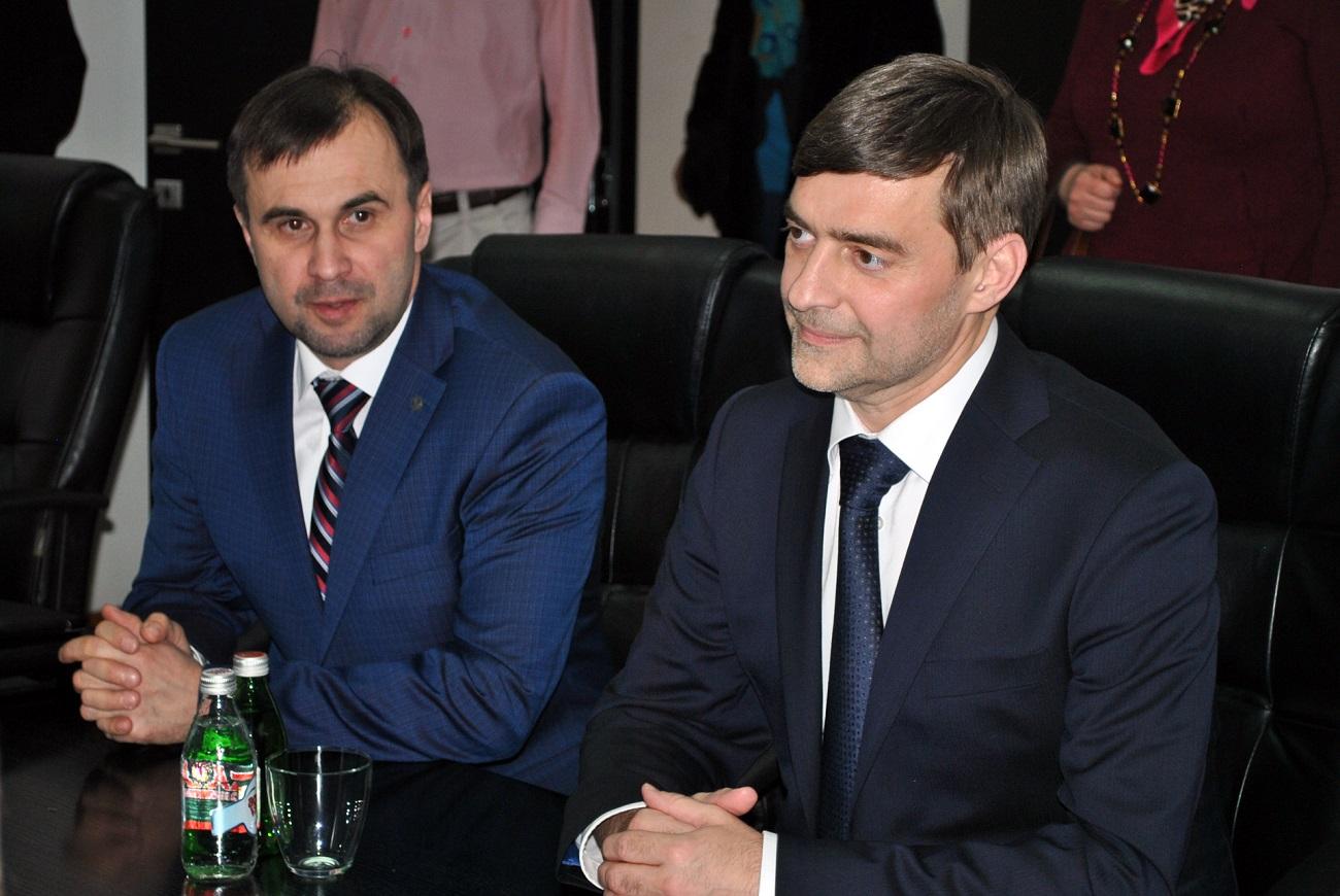 Сергеј Железњак и Виктор Колбановски.