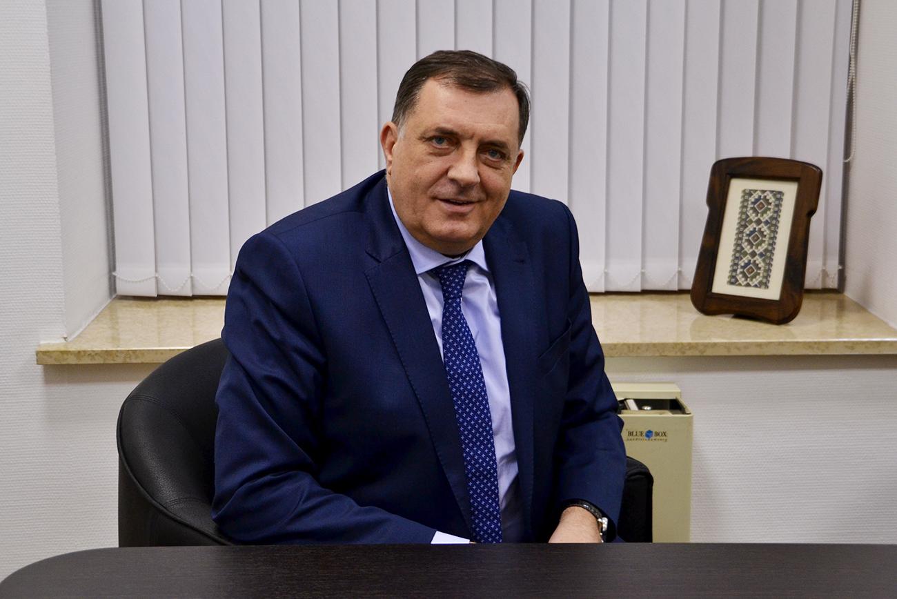 Президентът на Република Сръбска Милорад Додик бе на посещение в Москва.