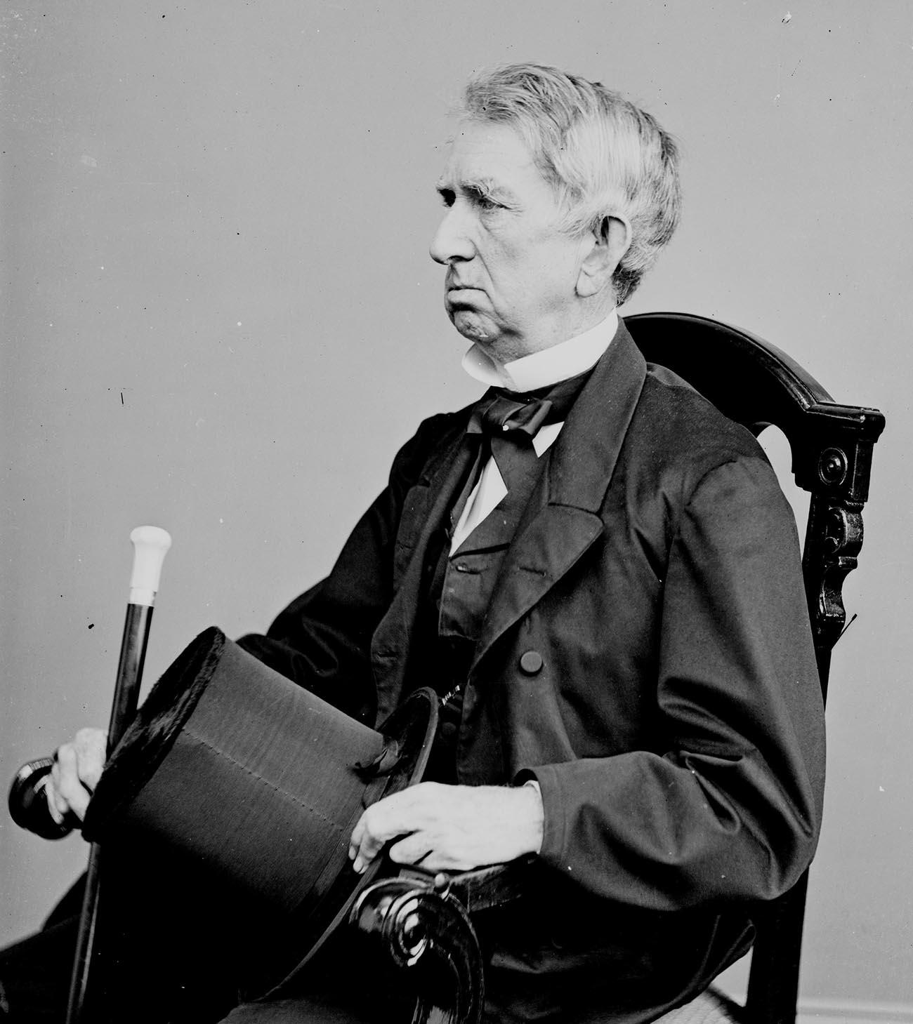 Уилям Стюард. Снимка: Библиотеката на Конгреса