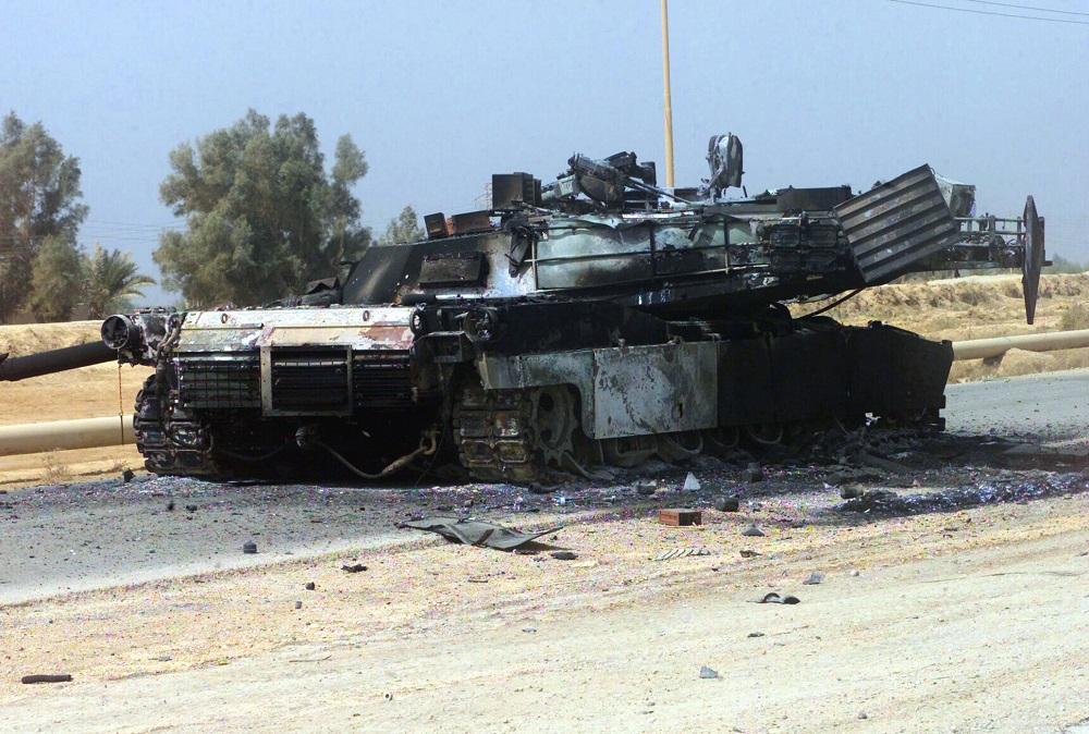 "M1 ""Абрамс"" уништен недалеко од Багдада / wikipedia"