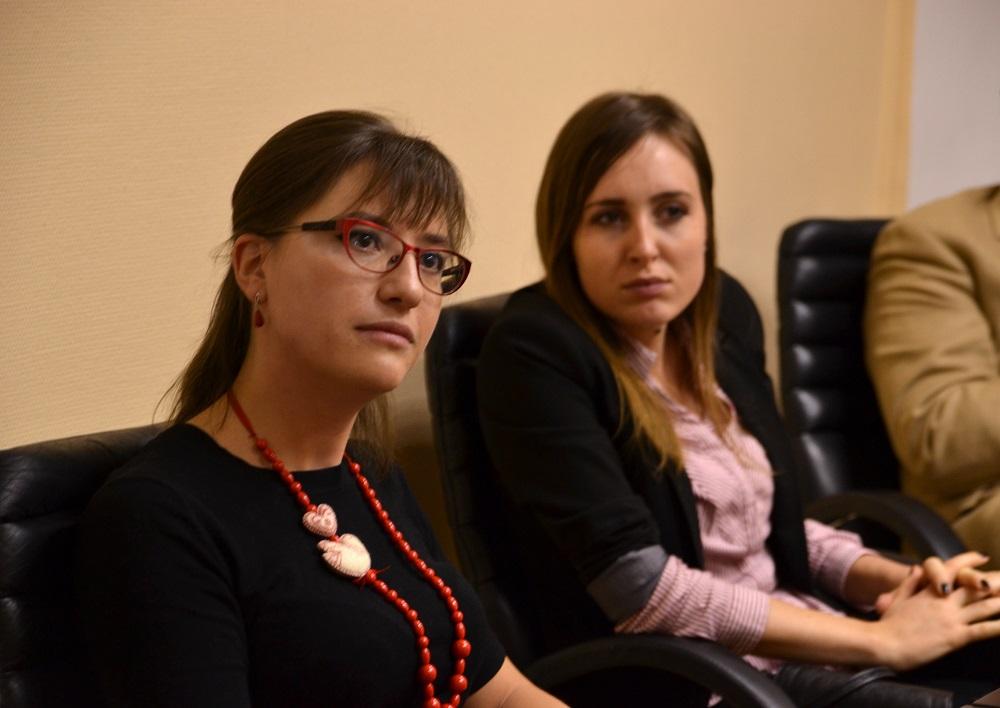 Полина Корољкова (лево) / Фотографија: Алина Јаблочкина