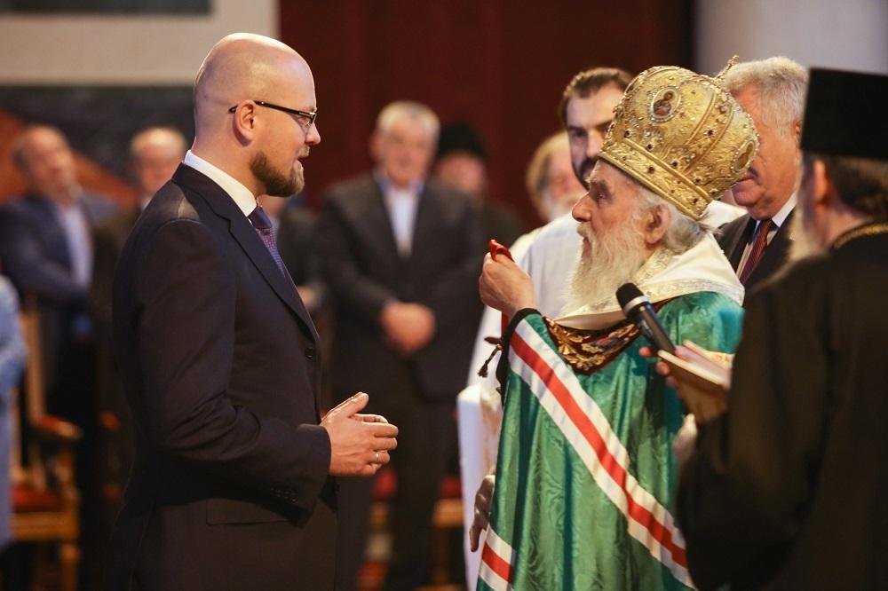 Кирил Тјурдењеви патријарх Иринеј\n