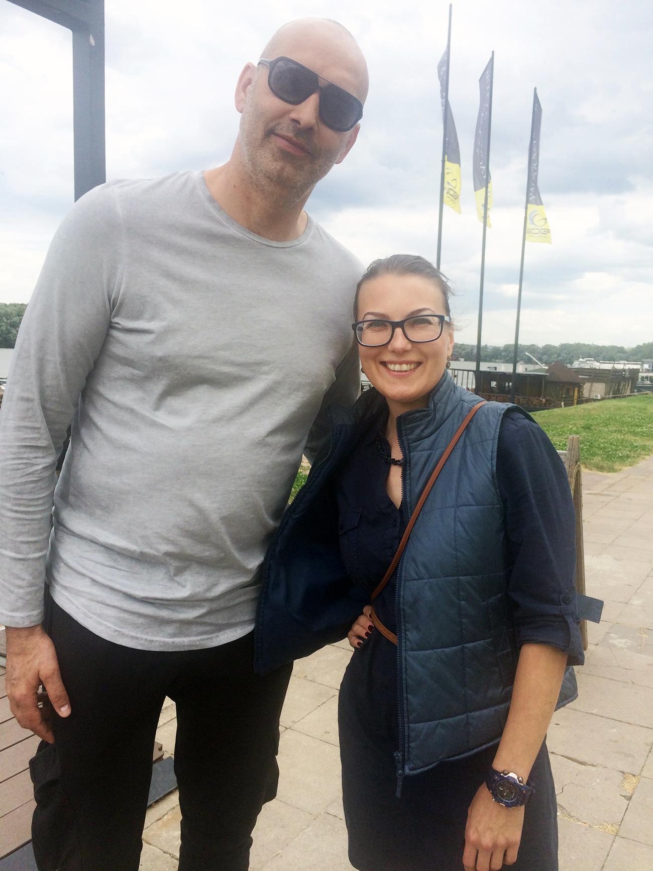 Зоран Лукић и Катарина Лане / Фото: К. Лане
