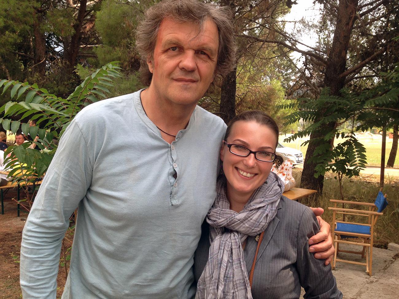 Емир Кустурица и Катарина Лане / Фото: К. Лане