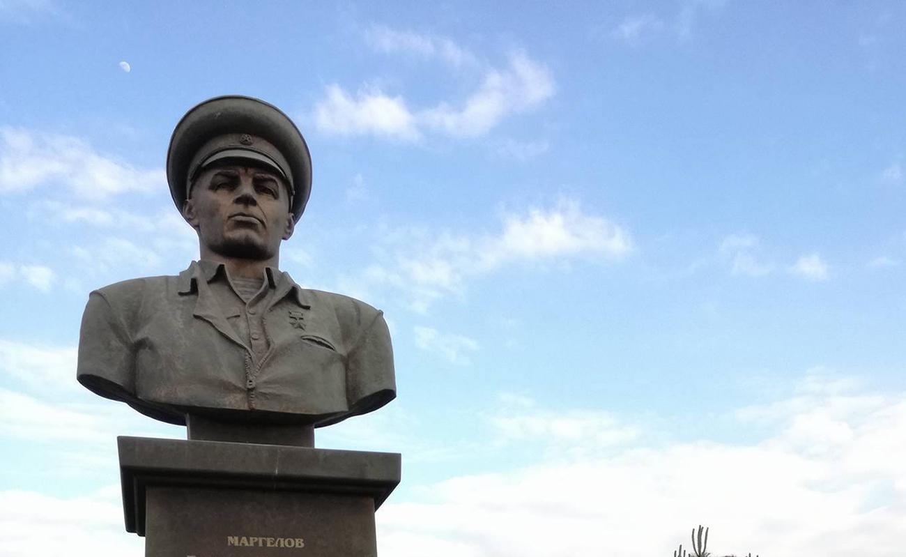 Споменик Василија Маргелова у Магазу. Извор: Игор Дамјановић