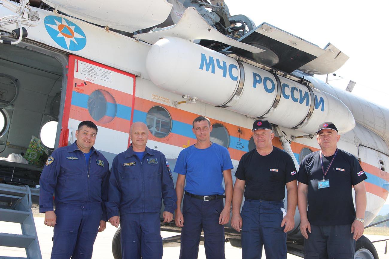 Посада Ми-8.