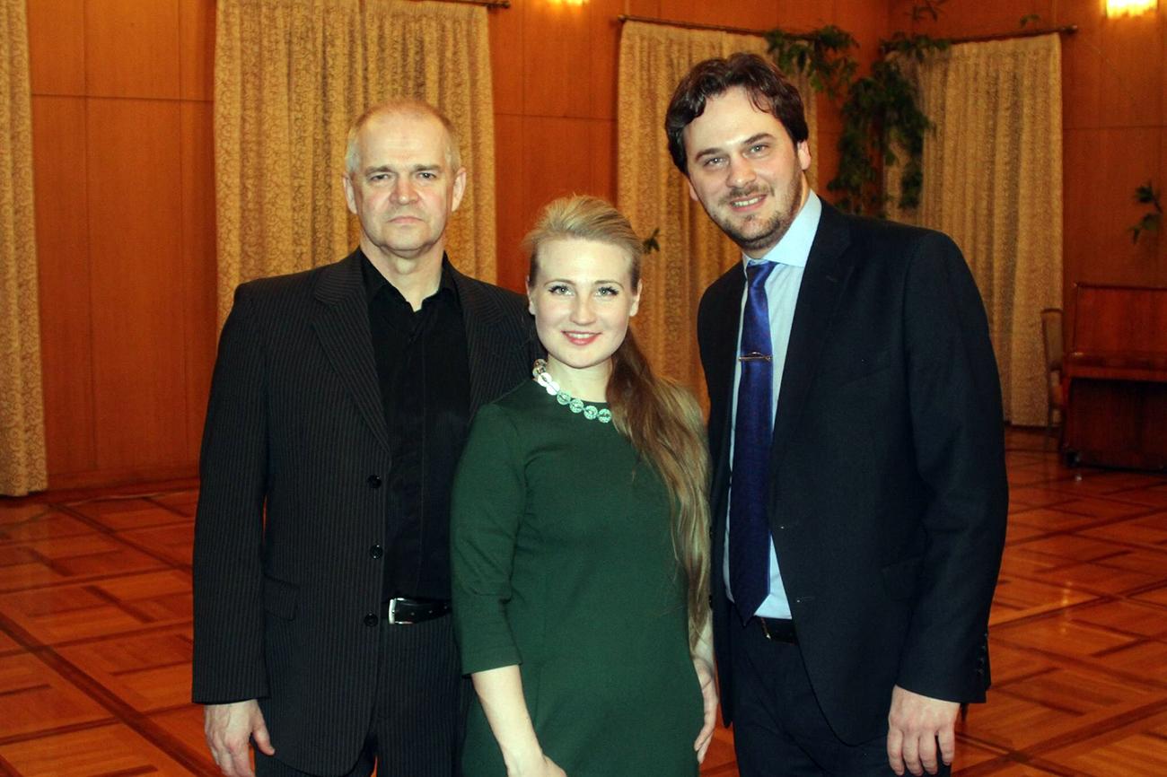 Масаљска, Маризин и Кудрјашов. Извор: Лична архива