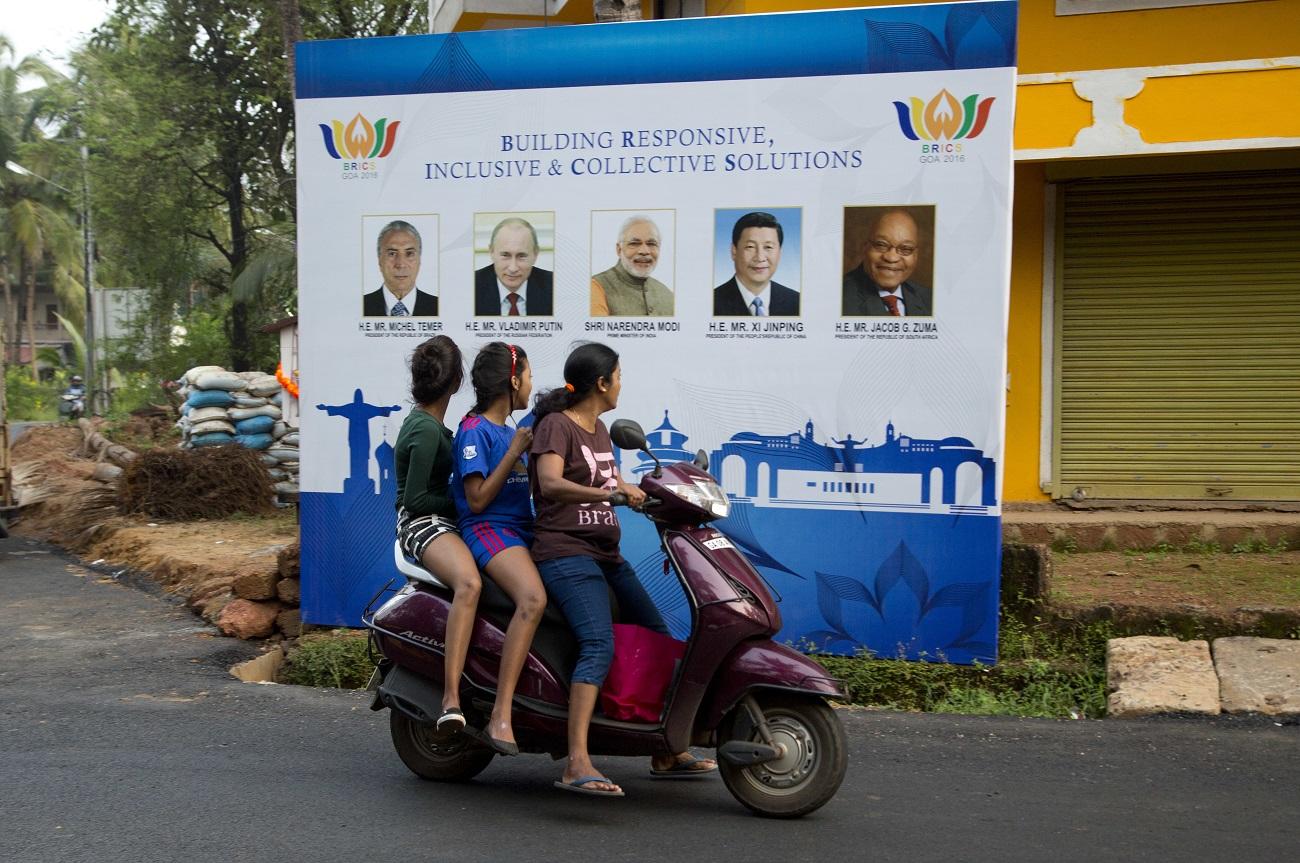 15. in 16. oktobra je v zvezni državi Goa v Indiji potekal vrh držav skupine BRICS.