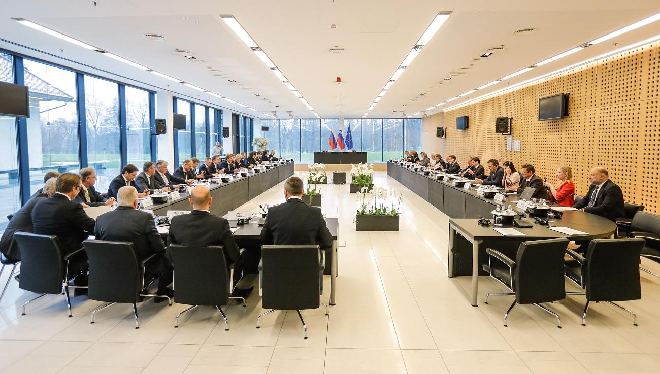 Prejšnji teden se je sestala slovensko-ruska medvladna komisija za gospodarsko sodelovanje. Foto: Stanko Gruden/STA/MZZ