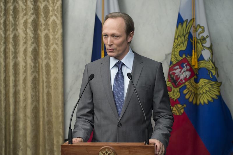 Ruski predsednik Viktor Petrov (serija Hiša iz kart).