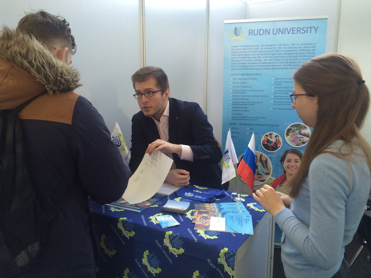 RUDN spada med najboljše vzhodnoevropske univerze. Foto: Polona Frelih