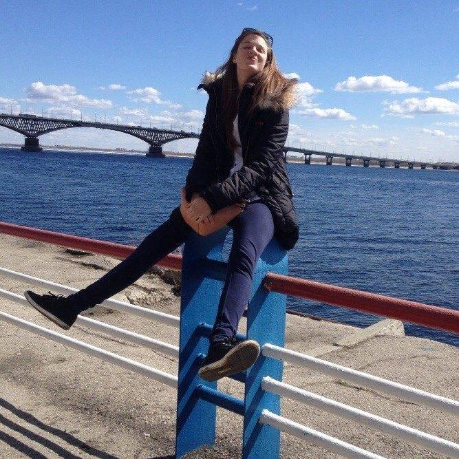 Mihela Božič je bila na študijski izmenjavi v ruskem mestu Saratov ob reki Volgi. Vir: Osebni arhiv