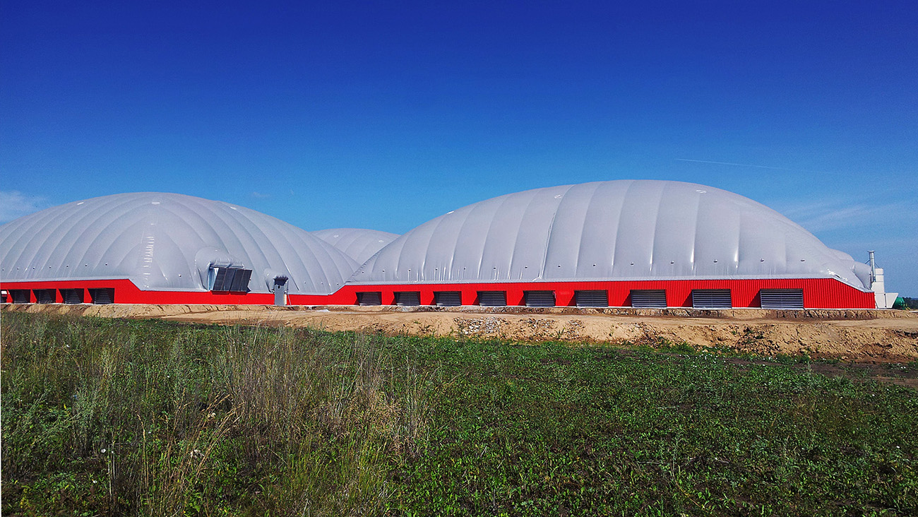 Pilotski projekt za kmetijstvo AgroDome, Kemerovo, Sibirija.  / Vir: Predstavitvena gradiva podjetja Duol