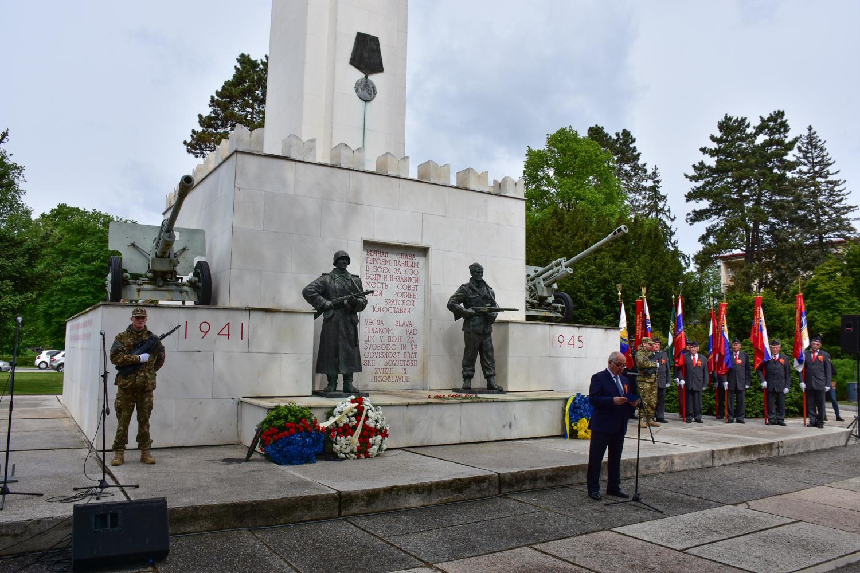 Proslava ob Dnevu zmage v Murski Soboti, 9. maj 2017.