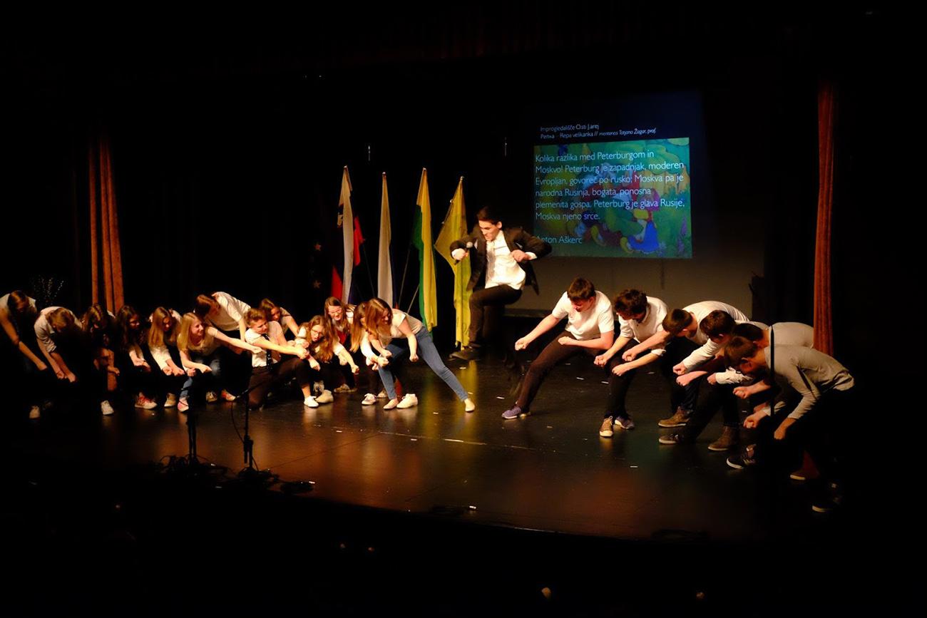Prizor s festivala ruske kulture Rusijada.  Vir: Sklad Toneta Pavčka